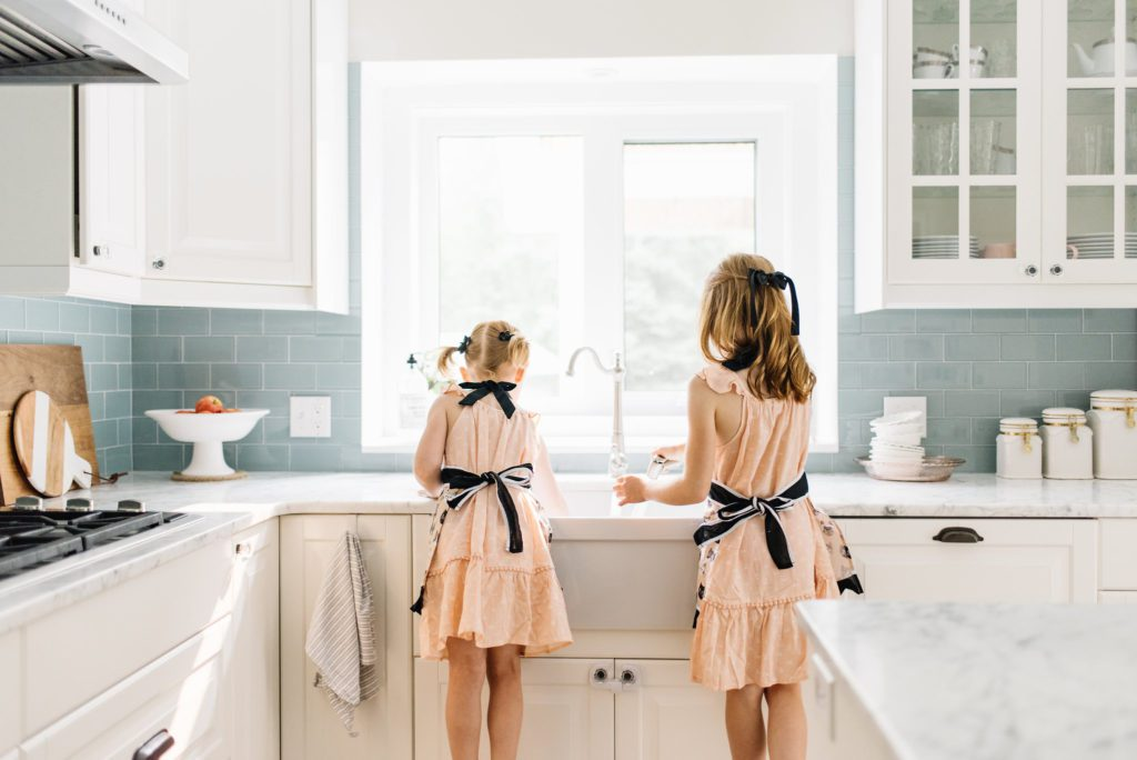 Gift ideas that aren't toys - Kids love having their own items to use in the kitchen.