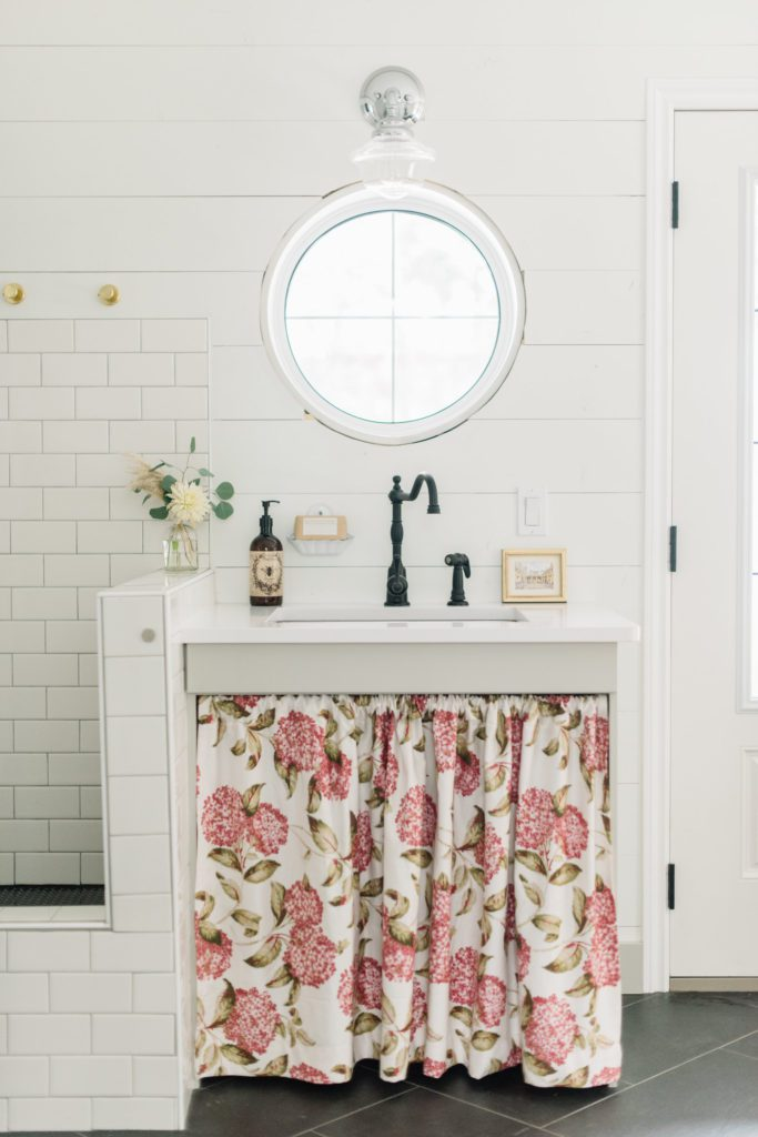 A sink and bootwash are a must in a functional mudroom