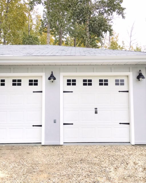 Garage Door makeover for less than $100