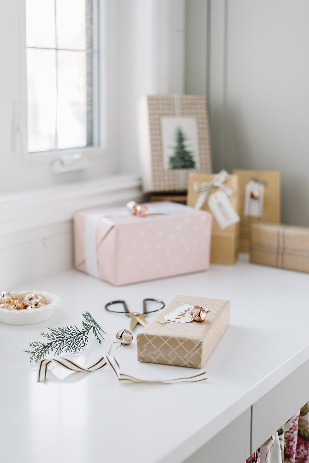 7 Easy Unique Gift Wrapping Ideas The Ginger Home