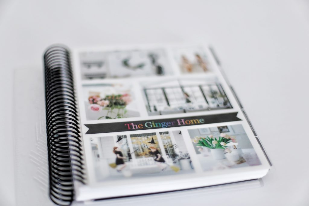 A personalized paper planner is on brand and still relevant in the digital age.