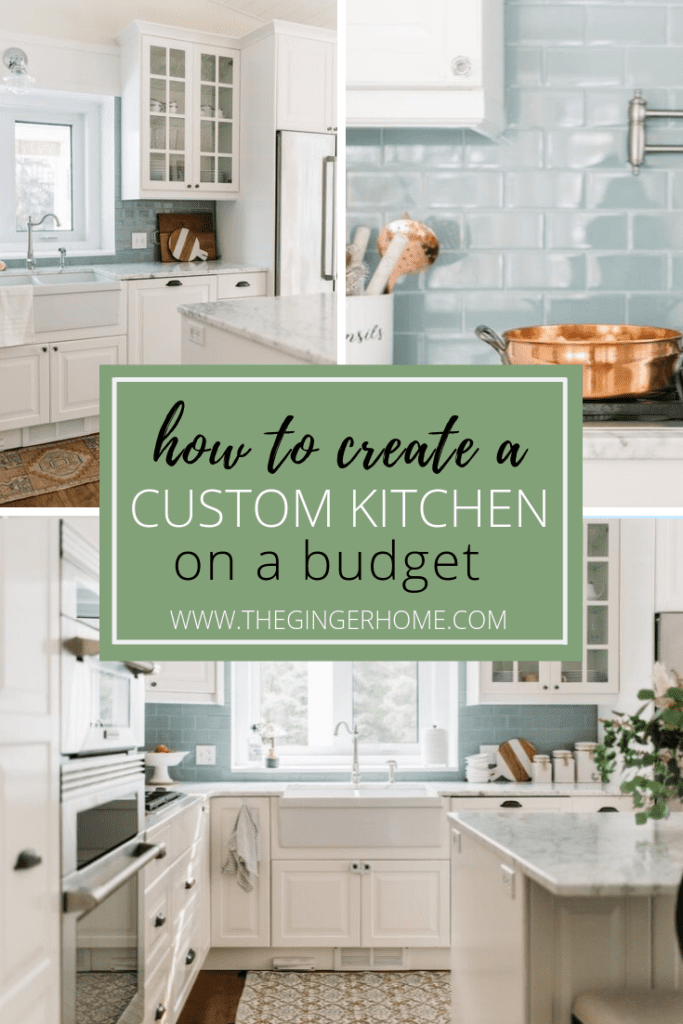 How to create a custom kitchen on a budget