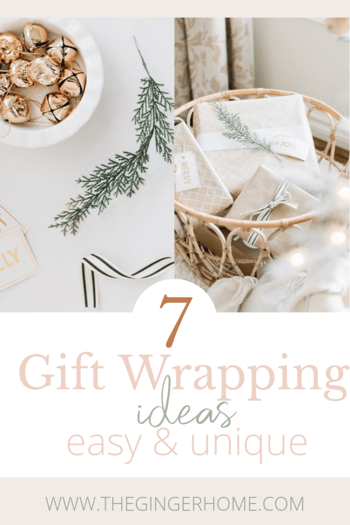 7 Easy gift wrapping ideas!