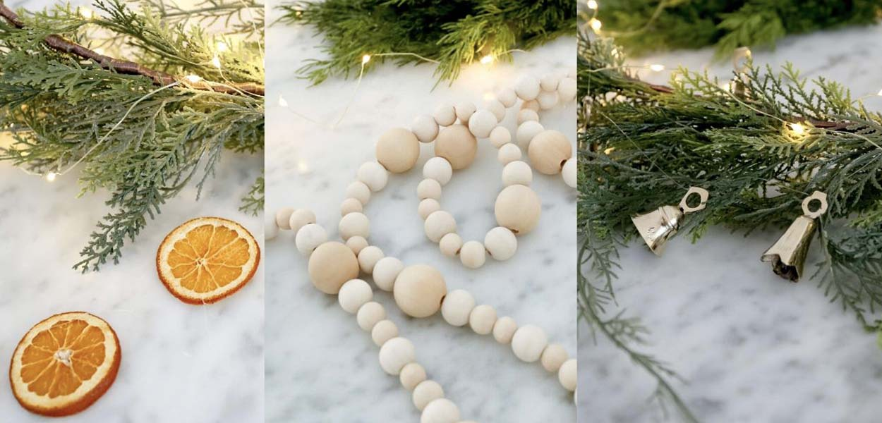 3 DIY Christmas Garlands