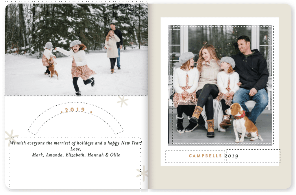 Christmas card design ideas