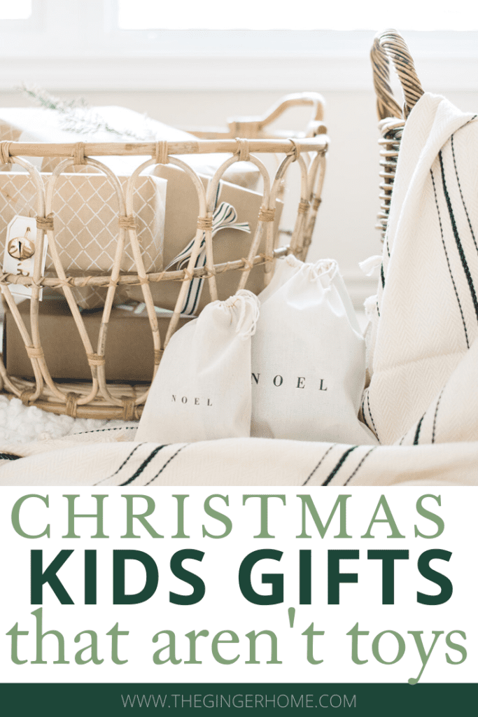 Christmas Gifts for Kids that aren't toys