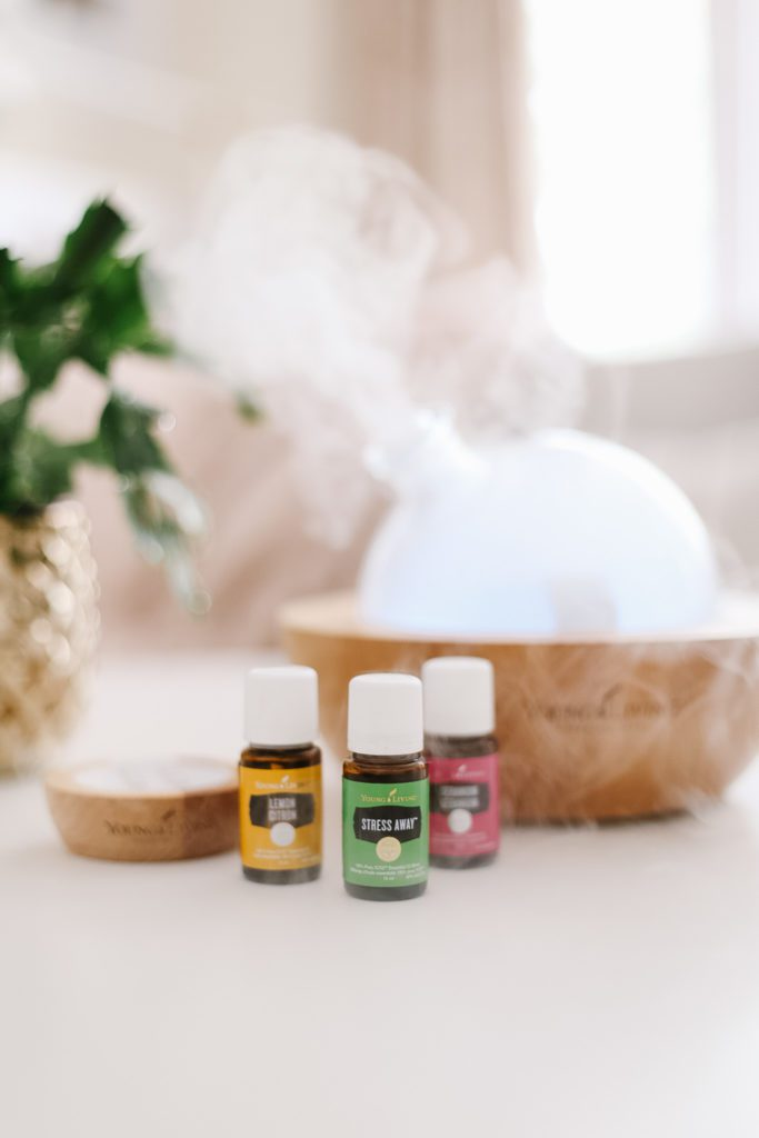 Essential Oils and diffuser