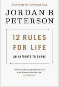 12 Rules For Life book makes an excellent Christmas present for men!
