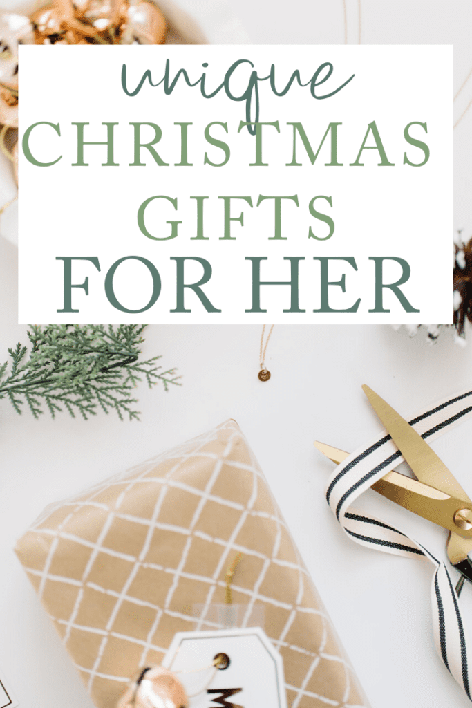 Unique Christmas gifts for her