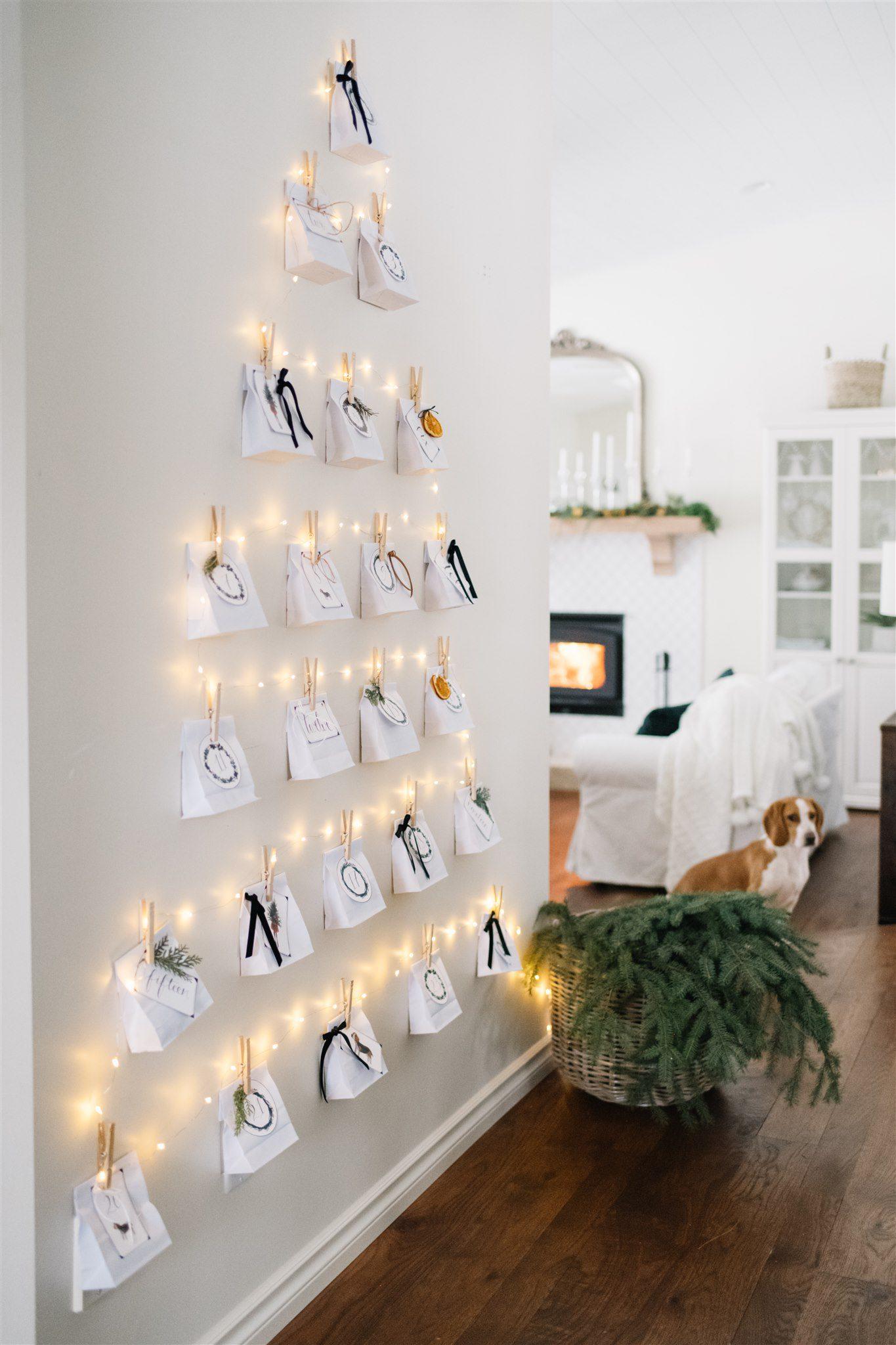 DIY adventskalender van Thegingerhome.com