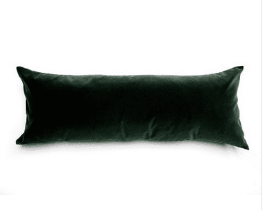 soft pillows add comfort to your Christmas home