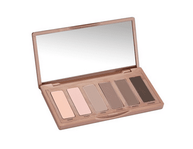 Nude makeup palette that takes you from day to night for the holidays
