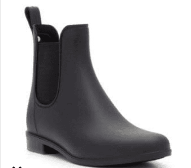 Waterproof booties keep you dry during the holidays