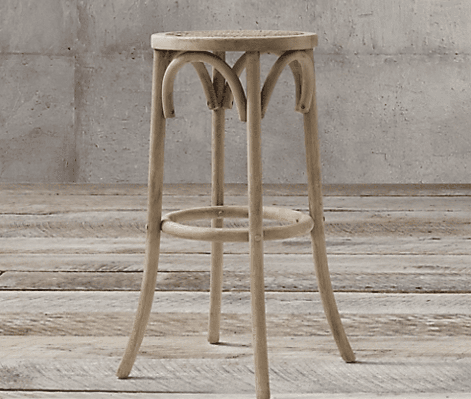 counter stool for guests during the holidays