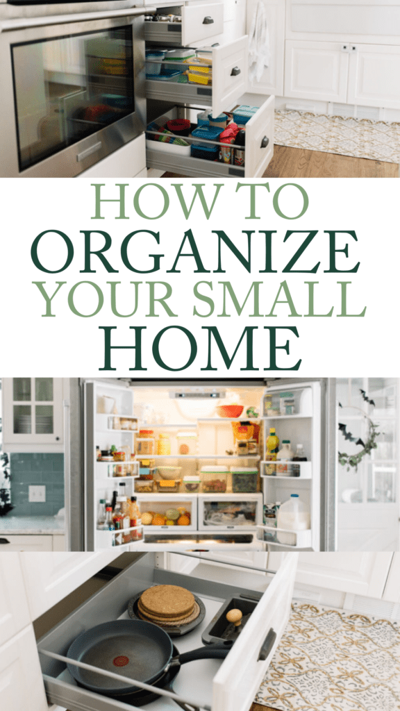 How to organize your small home