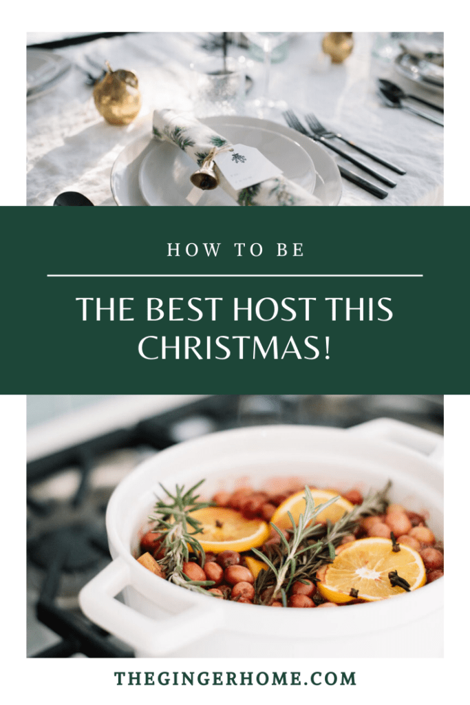 How to be the best host this Christmas
