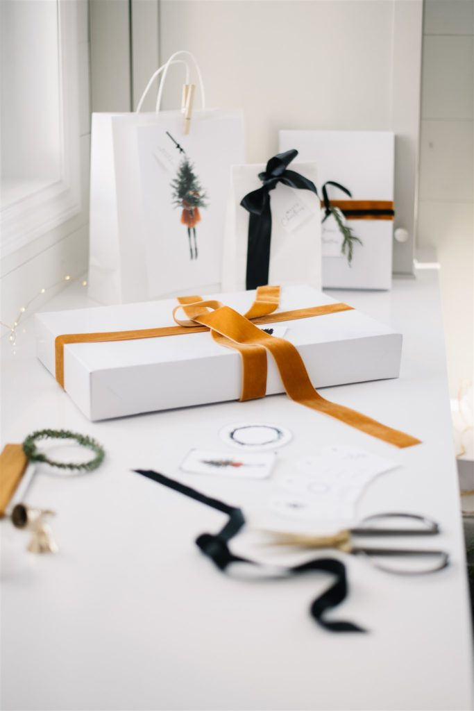 how to wrap gifts without using wrapping paper
