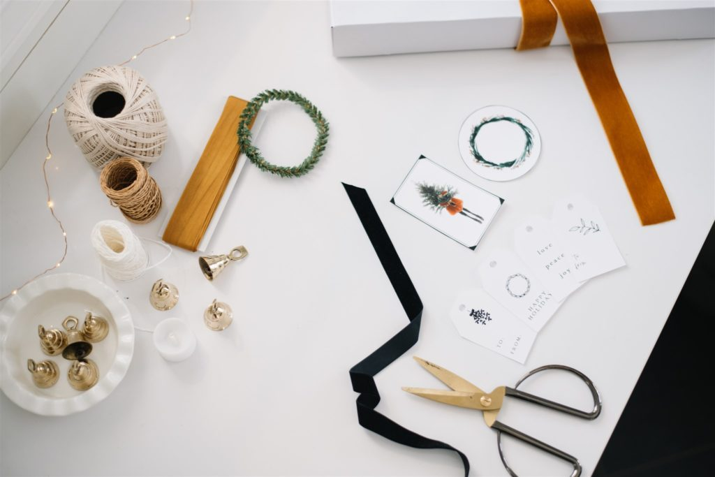 Cute tags dress up gifts wrapped without wrapping paper