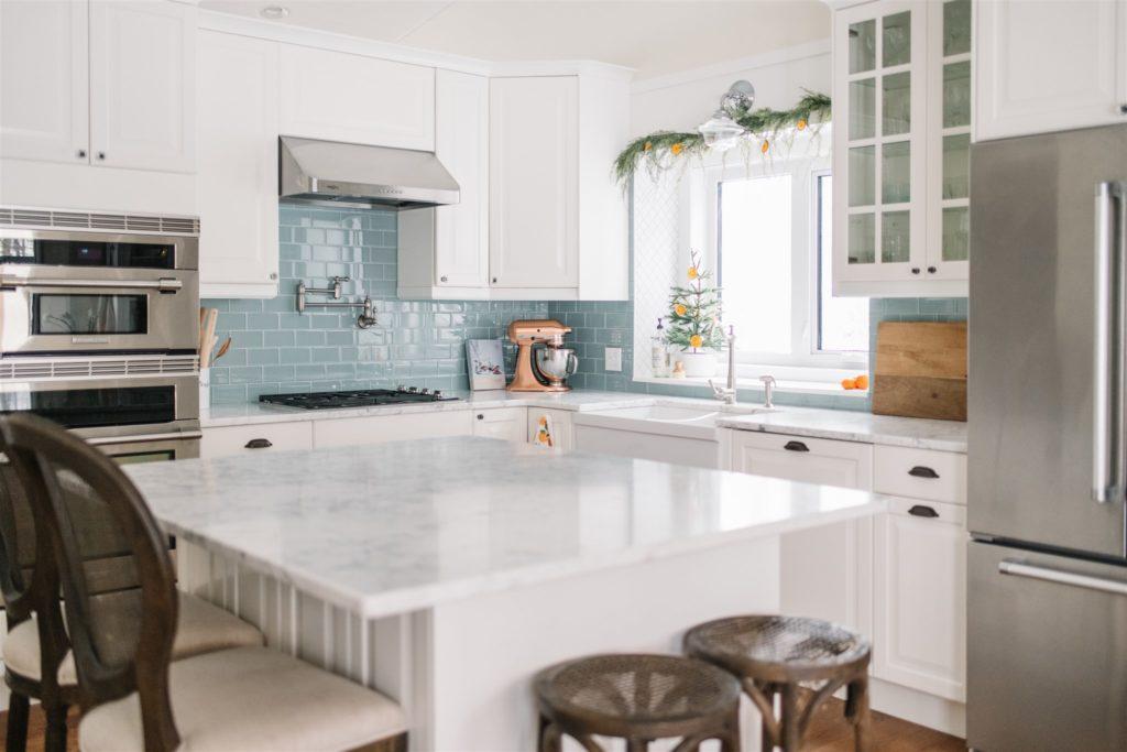 A custom kitchen DIY using Ikea cabinets