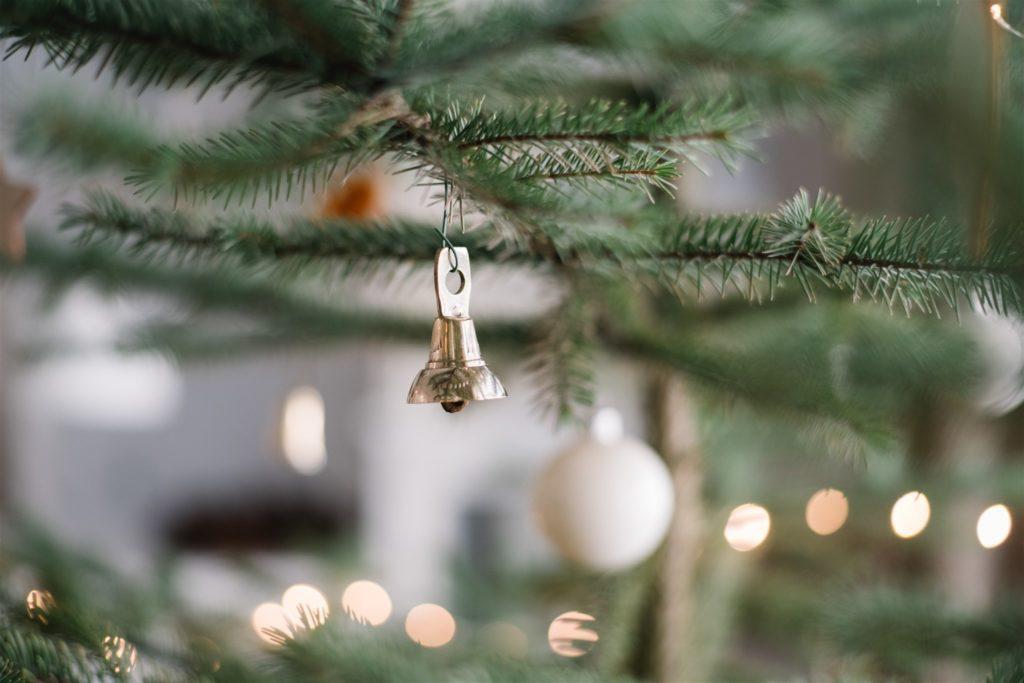 brass bell ornament