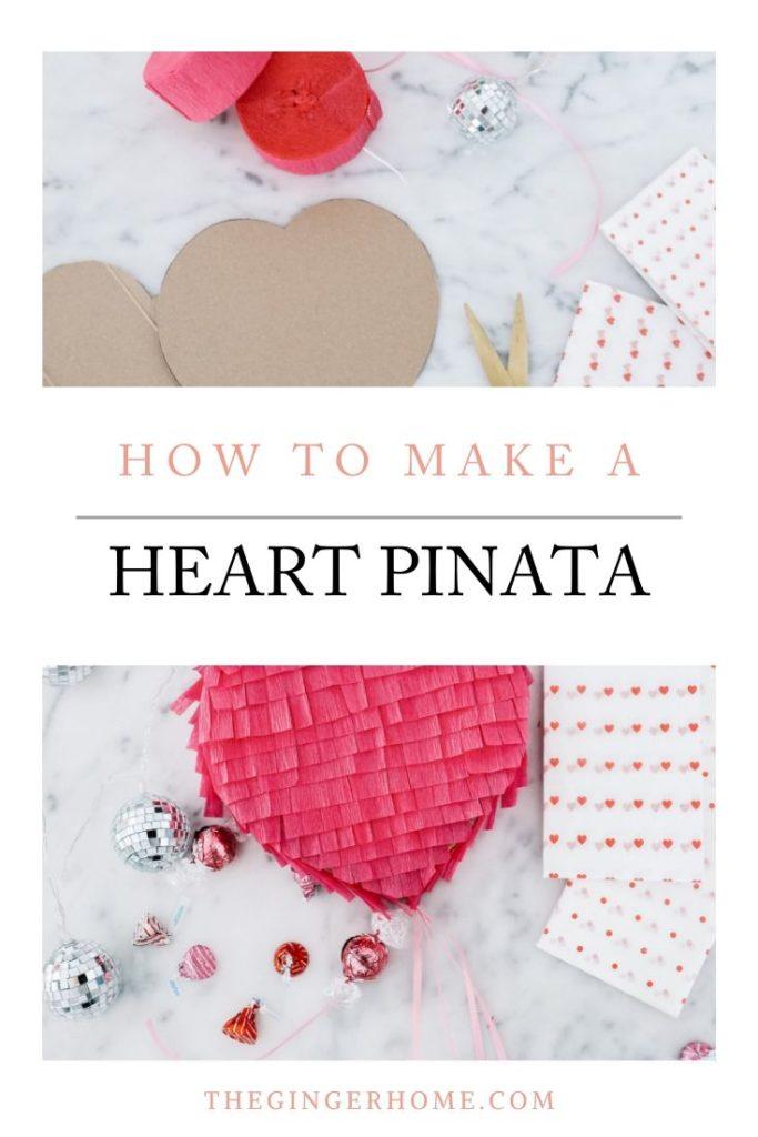 DIY Heart pinata tutorial