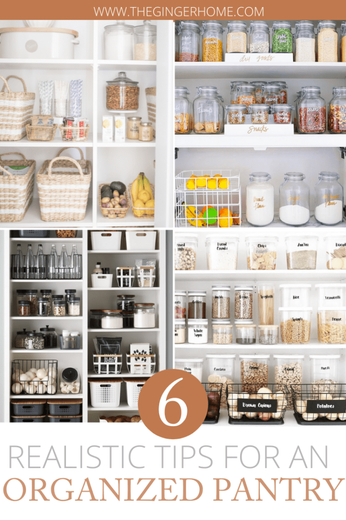 Tips For Pantry Organization