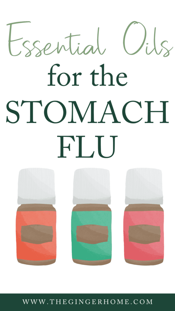 Essential Oils for the Stomach Flu