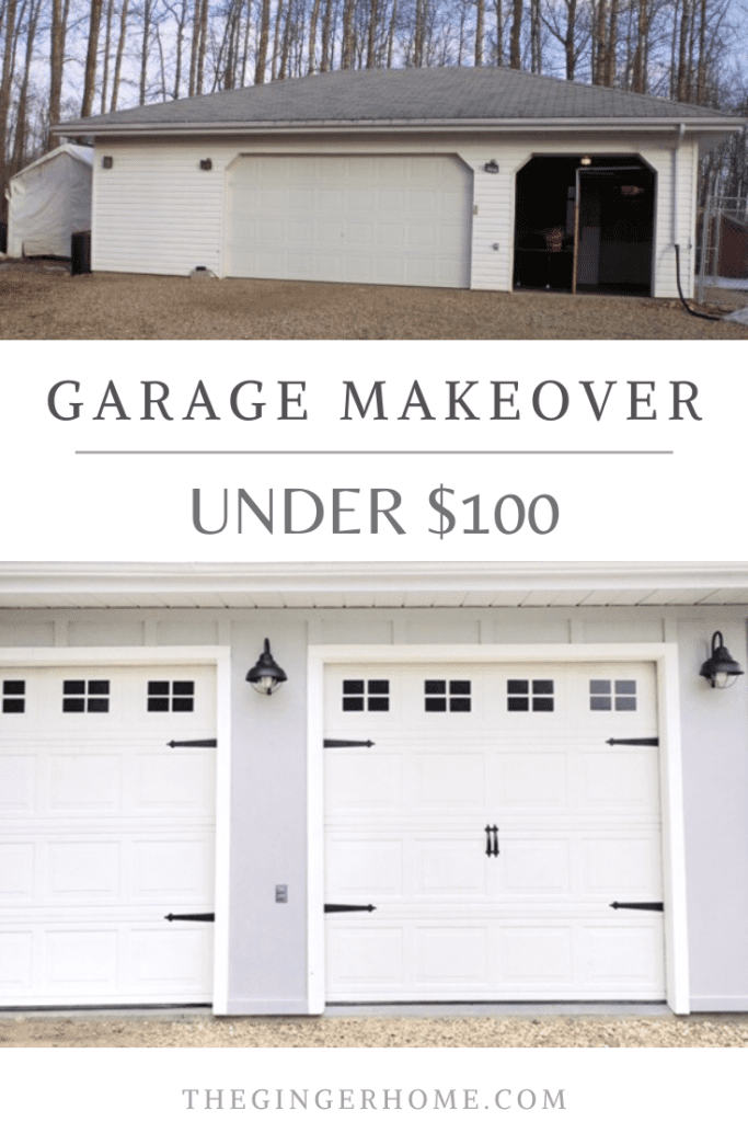 Garage Door Update for $100