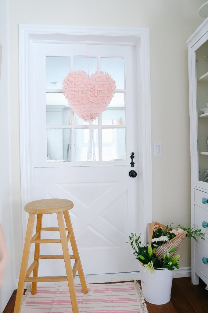 Heart Pinata Valentine's Day decor