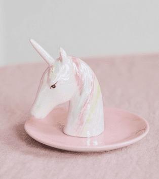unicorn Ring holder Valentine's gift for kids