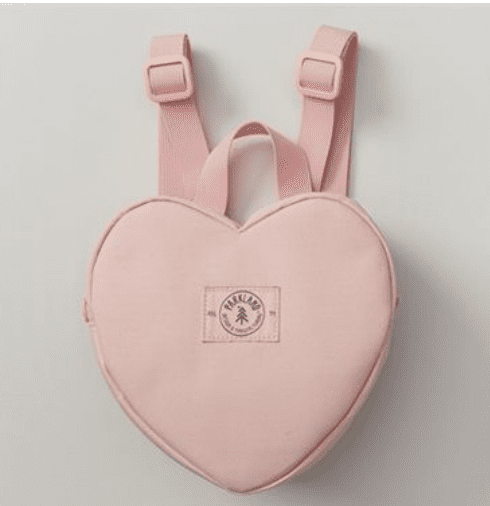 a heart backpack is a perfect Valentine's Day gift ideas for kids