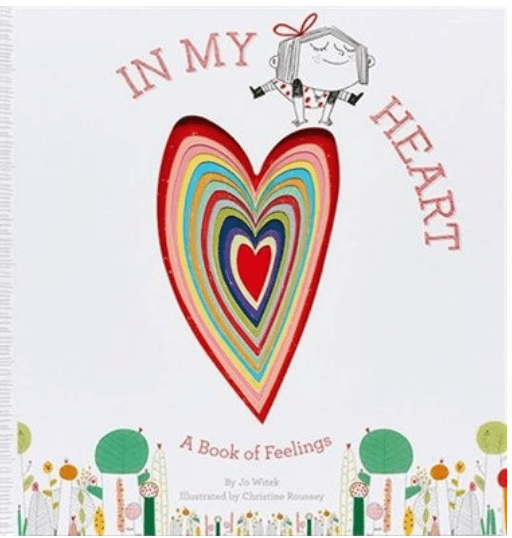 Book about feelings for Valentine's Day
