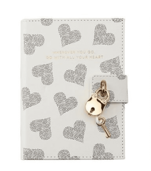 Diary make a great kids Valentine's Day gift idea