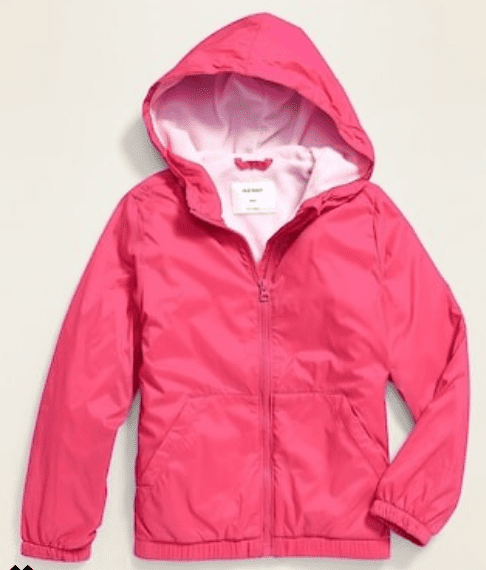 Spring jacket is pink and perfect for Valentine's day gift ideas
