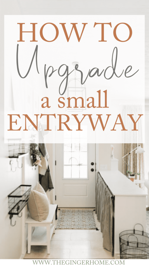 Designing A Small Entryway