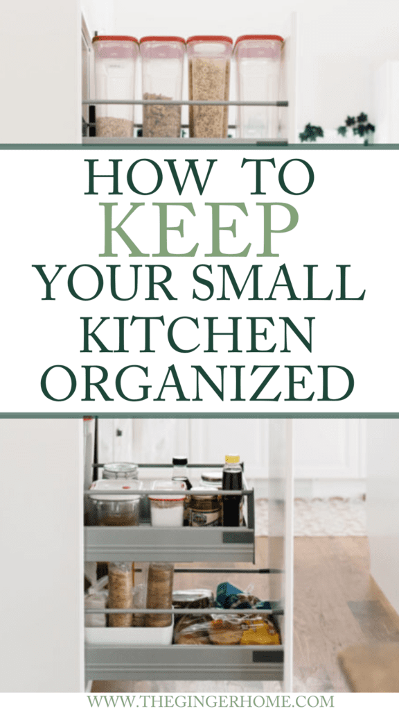 Simple Tips to keep your small kitchen organized