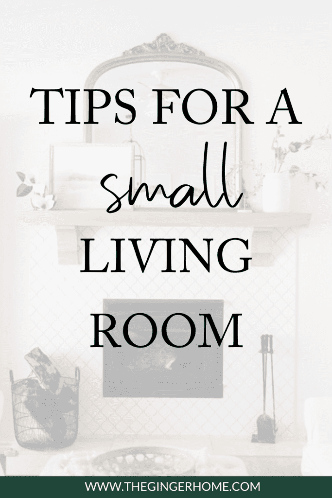 Tips For Designing A Small Living Room
