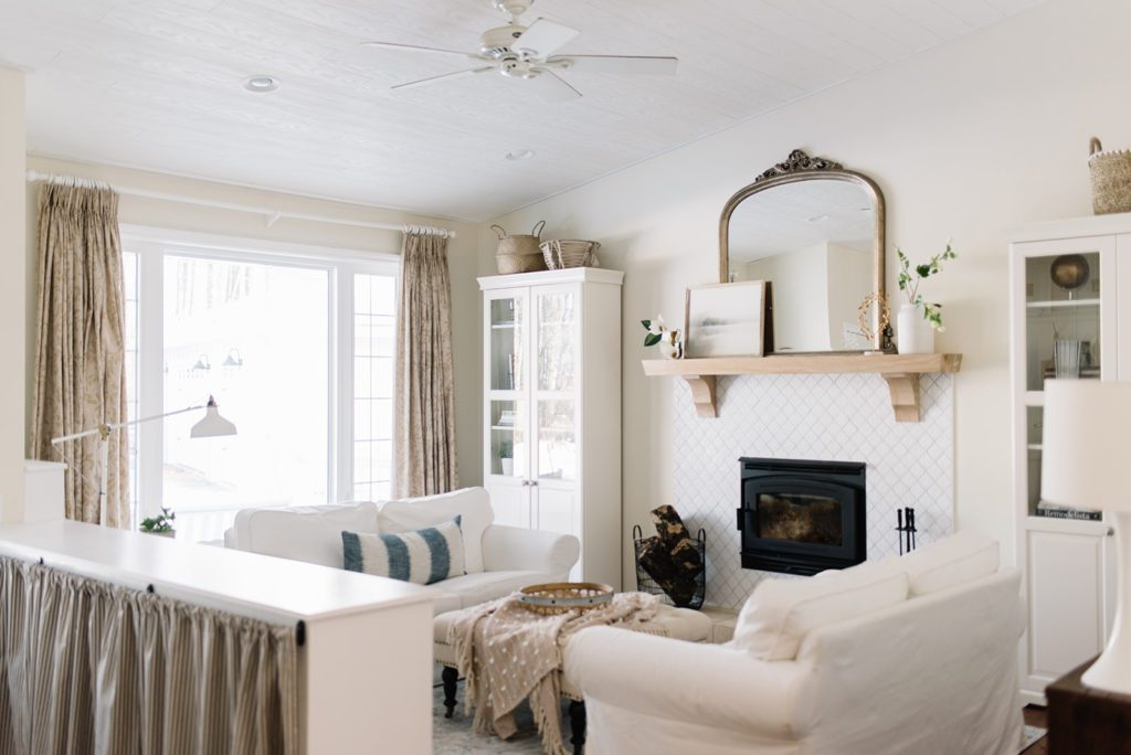 Stunning small living room makeover
