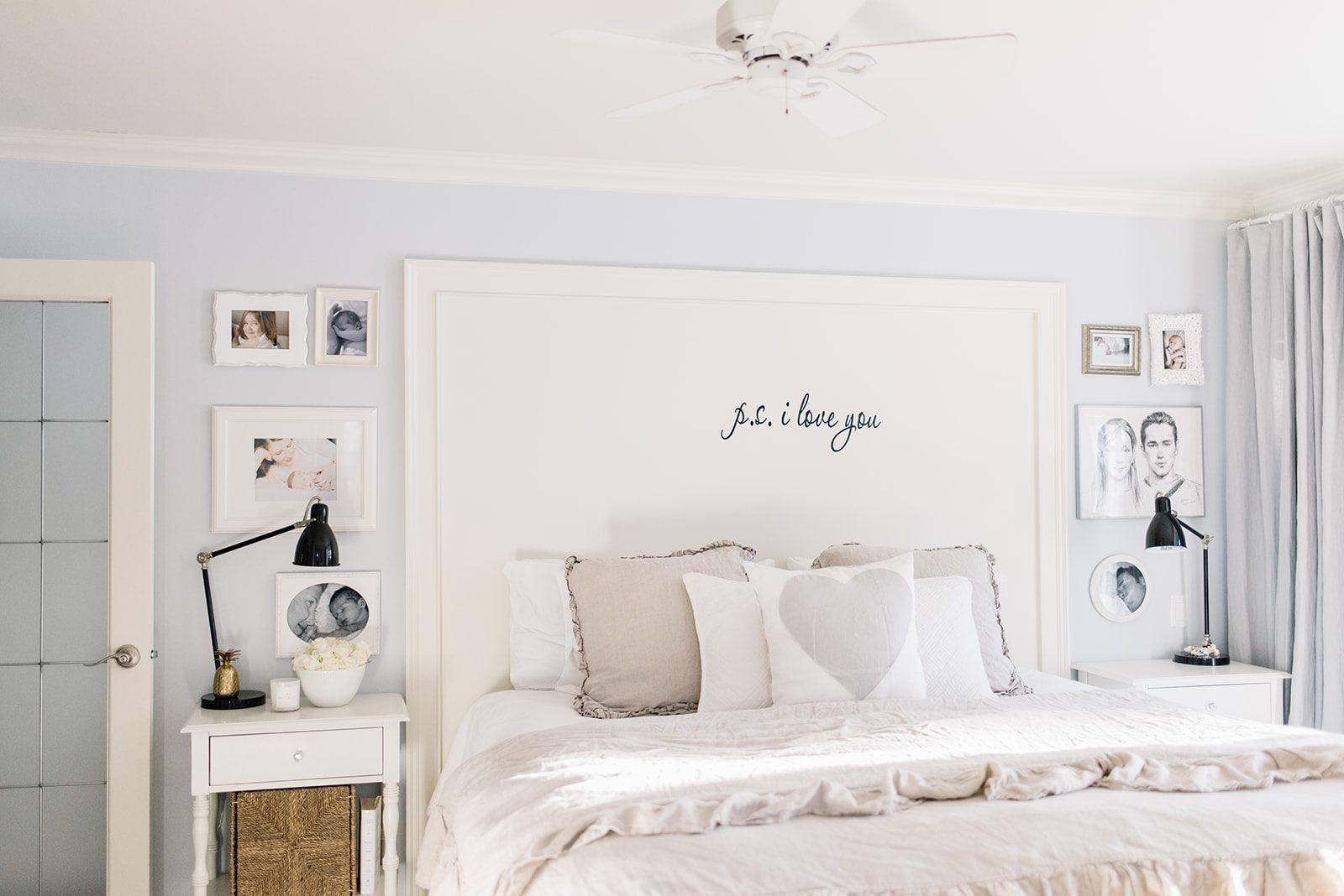 Decorating a farmhouse bedroom ideas.
