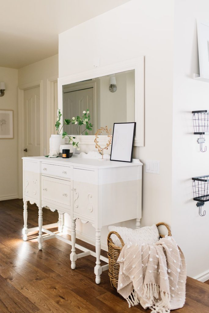 Even the hallways needed a makeover in this small house renovation