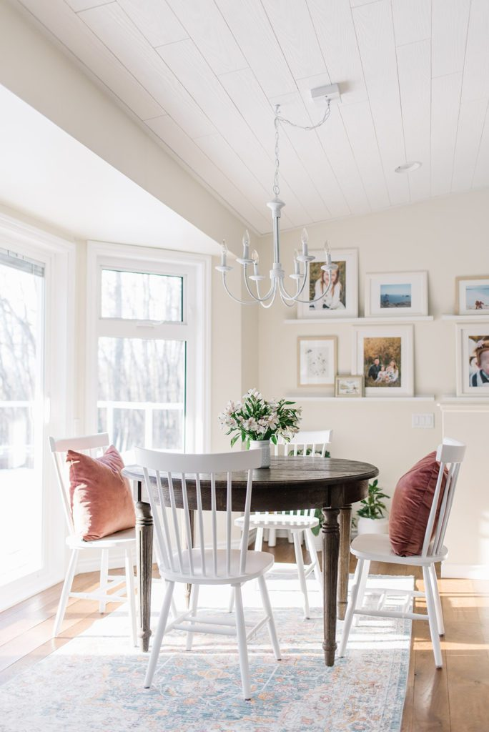 small space dining can be functional and pretty