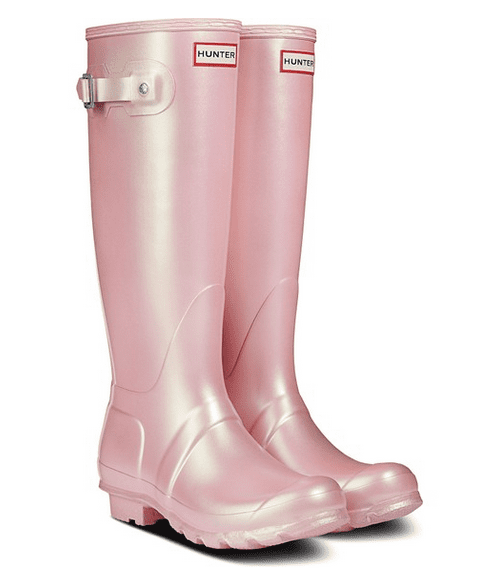 Pink rubber boots - Valentine's day gifts for her