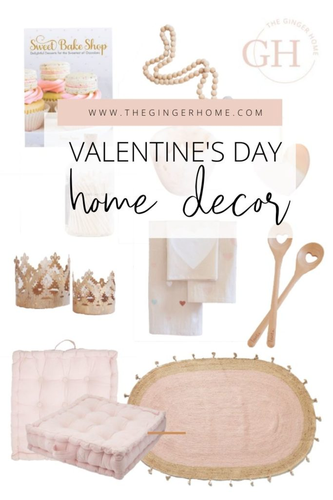 Pretty Pastel Valentine's Day Home Decor