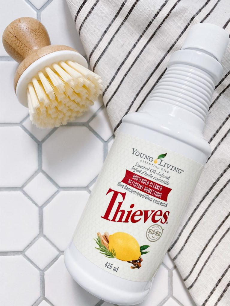 Clean your floors, walls, and surfaces with natural cleaner during quarantine