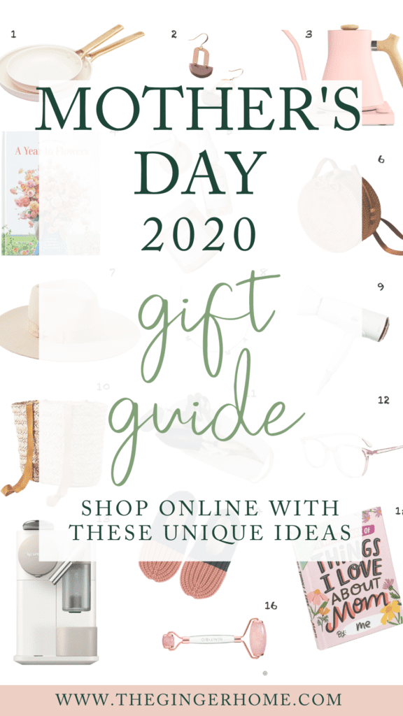 Mother's Day online shopping gift guide 2020