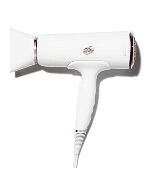 White hairdryer