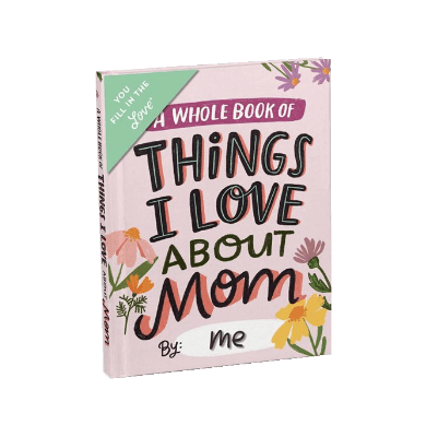 Things I love about Mom journal