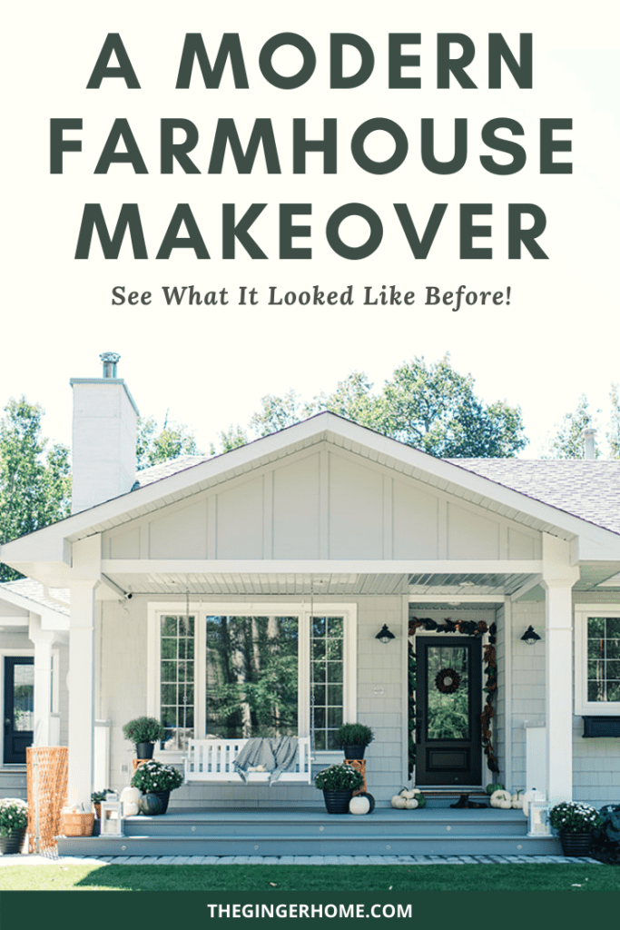 A Modern Farmhouse Makeover