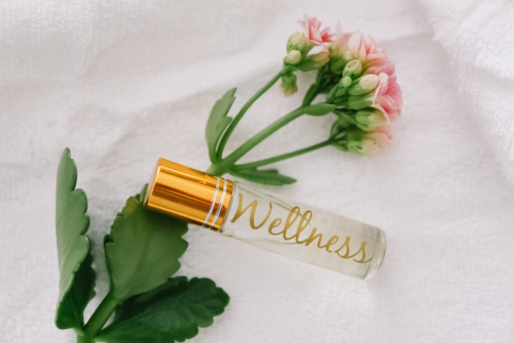 Wellness roller made with essential oils