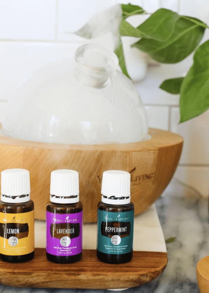 Spring Essential oil recipes for allergy relief